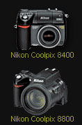 Nikon Coolpix 8400 and 8800 firmware updates - Digital cameras, digital camera reviews, photography views and news news