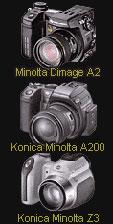 New Konica Minolta A1, A2, A200, Z3 firmware - Digital cameras, digital camera reviews, photography views and news news