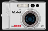 The new Rollei dp8300 ambitious pixel giant - Digital cameras, digital camera reviews, photography views and news news