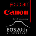 Canon cashback to celebrate 20 years of EOS - Digital cameras, digital camera reviews, photography views and news news