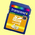 Transcend Ultra-Speed 4GB SDHC 150x card - Digital cameras, digital camera reviews, photography views and news news