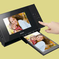 Sony DPP-F700 photo frame for viewing and printing - Digital cameras, digital camera reviews, photography views and news news