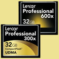 Lexar Pro 600x/300x 32GB CF cards now available - Digital cameras, digital camera reviews, photography views and news news