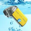 New Sanyo CA100 waterproof Full HD dual camera - Digital cameras, digital camera reviews, photography views and news news