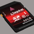 Kingston unveils 64GB SDXC class 10 memory card - Digital cameras, digital camera reviews, photography views and news news