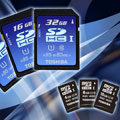 Toshiba/Panasonic introduce fastest SDHC-cards - Digital cameras, digital camera reviews, photography views and news news