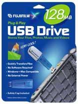 Fujifilm announces 8MB - 512 MB USB Drives - Digital cameras, digital camera reviews, photography views and news news