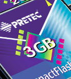 Click here to read Pretec's press release on the new CompactFlash Cards
