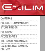 Casio launches exciting exilim.casio.com website - Digital cameras, digital camera reviews, photography views and news news