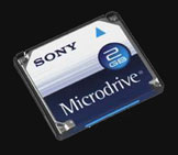 Sony introduces 2GB and 4GB microdrive - Digital cameras, digital camera reviews, photography views and news news