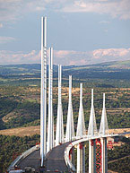 The beautiful Millau Viaduct has been opened today - Digital cameras, digital camera reviews, photography views and news news