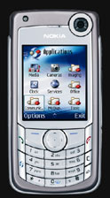 Nokia 6680 with two integrated digital cameras - Digital cameras, digital camera reviews, photography views and news news