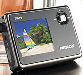 Minox DMP-1, a pocket-sized digital photo album - Digital cameras, digital camera reviews, photography views and news news