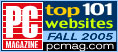 """Top Honors in the PC Magazine """"top 101 sites"""" - Digital cameras, digital camera reviews, photography views and news news"""