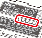 Safety warning for the Nikon Li-ion EN-EL3 battery - Digital cameras, digital camera reviews, photography views and news news