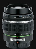Pentax announces DA FISH-EYE 10-17mm lens - Digital cameras, digital camera reviews, photography views and news news