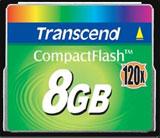 Transcend releases 8GB 120x CompactFlash card - Digital cameras, digital camera reviews, photography views and news news