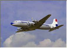 Douglas DC6 - Copyright © 2007 by Chair2Air