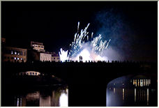 Fireworks in Florence - Copyright © 2007 by bac