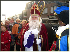 December 5 Birthday of Sint Nicolaas - Copyright © 2007 by Petronella