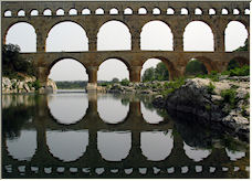 pont du gard - Copyright © 2007 by Moonboy