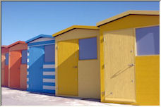 Beach Huts - Copyright © 2007 by imagepix