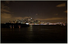 New York by Night - Copyright © 2007 by iajohnston