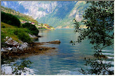 Geiranger Fjord, Norway - Copyright © 2008 by Petronella