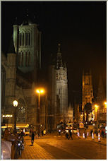 Gent at Night - Copyright © 2008 by velcro