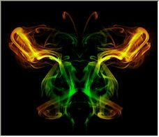Painting the smoke - Copyright © 2008 by Kimba