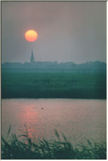 Hazy Sunset - Copyright © 2008 by Generys