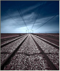 railway to Leon - Copyright © 2008 by Jesús Daniel Martínez Alday