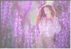 Anna in Lavendar - Copyright © 2006 by Shirley Cross