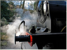 Letting off steam. - Copyright © 2006 by Meg Metcalfe