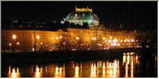 Prague at night - Copyright © 2006 by graham farrell