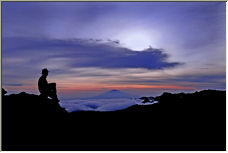 Kilimanjaro Sunset - Copyright © 2006 by Wayne Pinkston