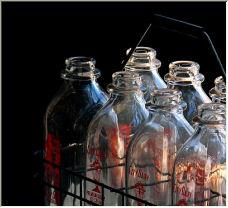 Milk Bottles - Copyright © 2006 by Patricia Kontak