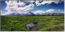 Grand Tetons - Copyright © 2006 by Wayne Pinkston