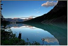 Lake Louise Sunset 2 - Copyright © 2006 by Wayne Pinkston