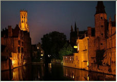 Brugges by night - Copyright © 2006 by Ian Stevens