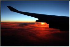 Sunset over Russia - Copyright © 2006 by Hubert de Palm