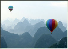 Karst Mountains - Copyright © 2006 by Hubert de Palm