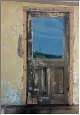 Hi Vista Cafe door - Copyright © 2006 by Rick Smith