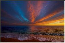 Chesil Beach Sunset - Copyright © 2006 by Ian Watkins