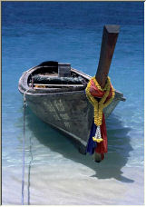 Thailand Long Boat - Copyright © 2006 by George