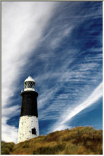 Spurn Point Lighthouse - Copyright © 2006 by Dave H