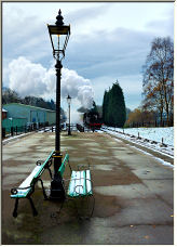 Steam and snow - Copyright © 2007 by Veejaycee / Vic