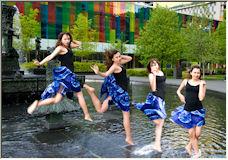 Stick the landing - Copyright © 2008 by Kimba