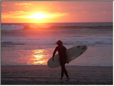 Sunset Surf - Copyright © 2007 by Jimmy Sallis