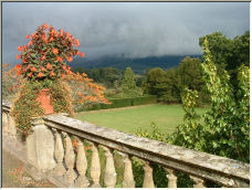Storm brewing over Powys Castle - Copyright © 2007 by Flyfisher1